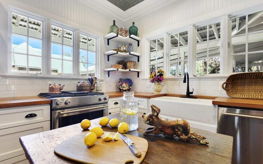 Cottage Kitchen Renovation by a Residential Home Architect